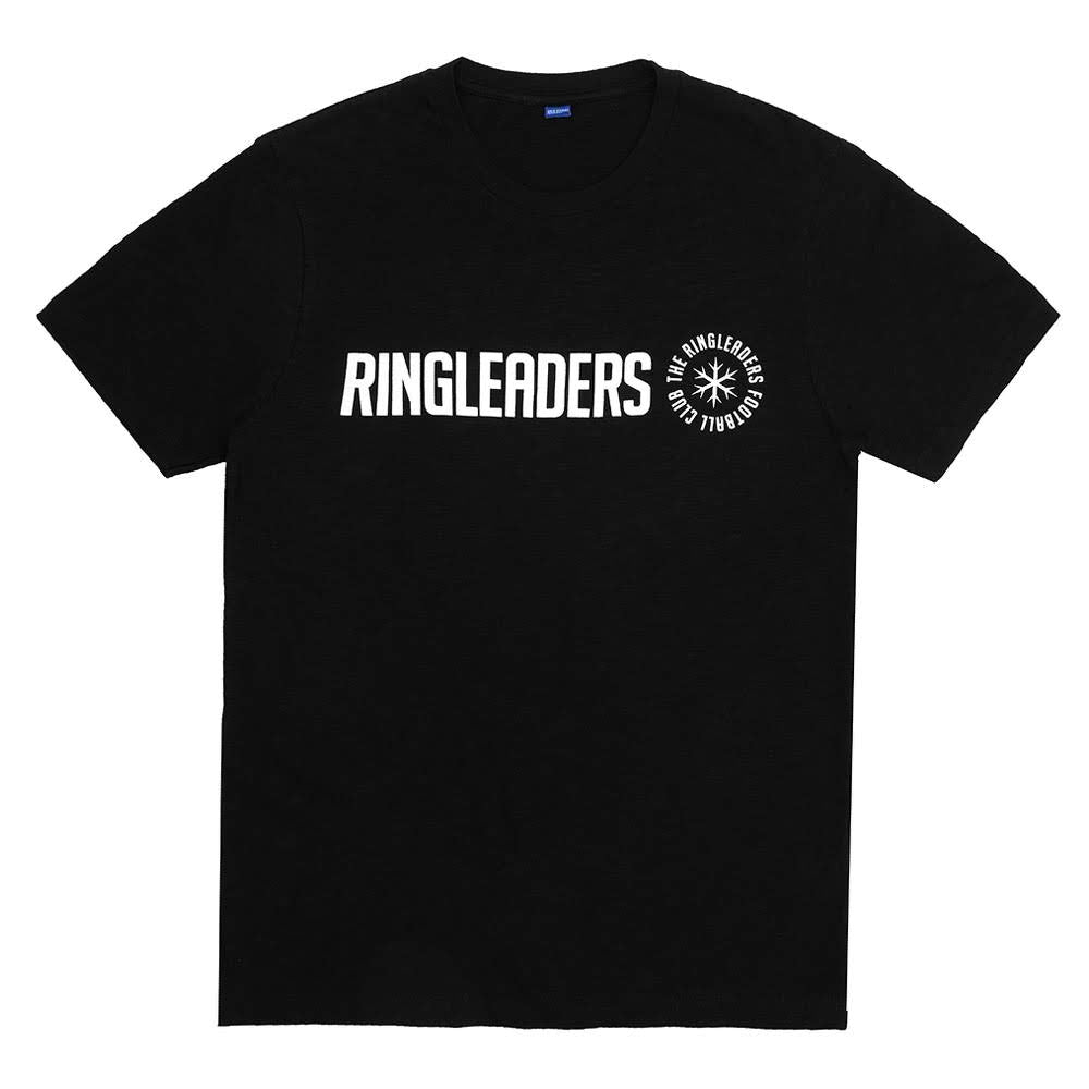 This regular fit crewneck T-Shirt is adorned with eye-catching logo details, located right at the chest.   Product code: RFCBSC004-BLK Cost T-Shirt Black ringleaders off the hook oth streetwear boutique canada montreal soccer football
