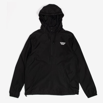 by OTH RUN99.04 Running Depuis '99 Windbreaker Black - front - available at off the hook montreal
