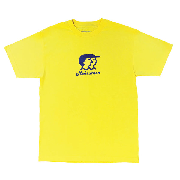 Mehrathon R and S Tee - Yellow - Front - Off The Hook Montreal