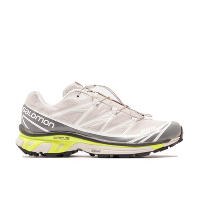 Salomon XT-6 Advanced Lunar Rock/Quiet Shade/Yellow - Side-  Off The Hook MOntreal
