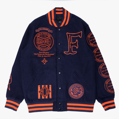40&Shorties Southland Varsity Jacket - Front - Off The Hook Montreal