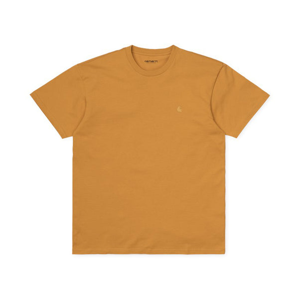 Carhartt WIP S / S Chase T-Shirt Winter Sun / Gold front disponible à off the hook montreal