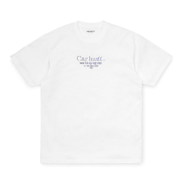 Carhartt  I028458 S/S Commission T-Shirt White front available at off the hook montreal