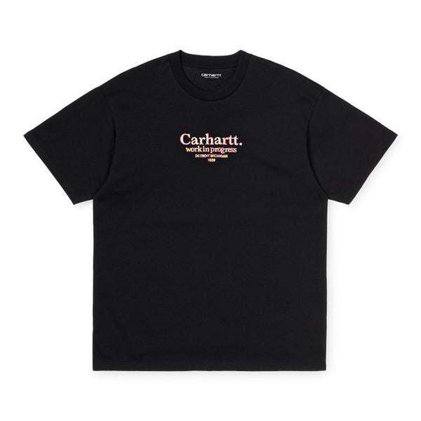 Carhartt I028458 S/S Commission T-Shirt Boysenberry front available at off the hook montreal