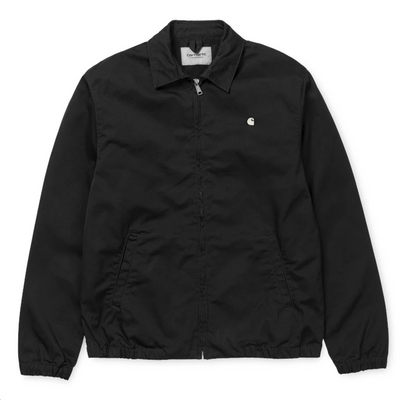 I026487 Madison Jacket - men's - shiraz - collar - available at off the hook montreal #color_black-wax