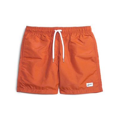 Bather 2400-ORG Solid Orange Swim Trunk - front - available at off the hook montreal
