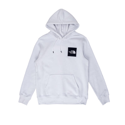 NF0A55UV9B8 TNF Fine Hoodie - front - available at off the hook montreal #color_tin-grey