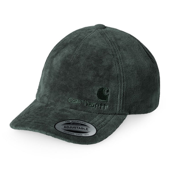 Carhartt WIP United Script Hat Teal avant disponible à off the hook montreal