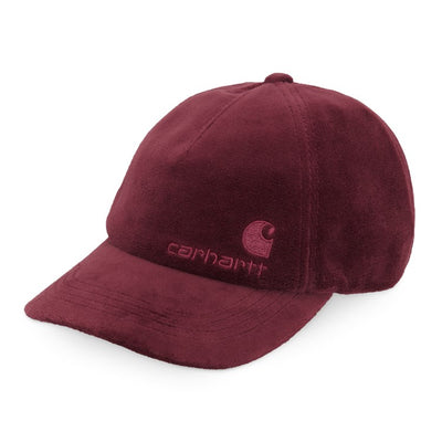 Carhartt WIP United Script Hat Bordeaux front available at off the hook montreal