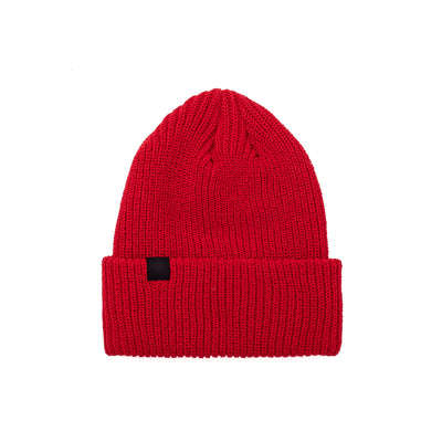 OTH Vezina Beanie - Red - Front - Off The Hook Montreal