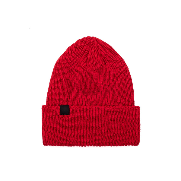 Created to fit your everyday looks, this beanie inspired by the goalkeeper Georges Vézina is the perfect balance between our Habitant and Ouellet style.  100% Acrylic  Made in Canada Product code: OTHVEZBEAN  Vezina Beanie Red oth off the hook streetwear boutique canada montreal winter hat toque
