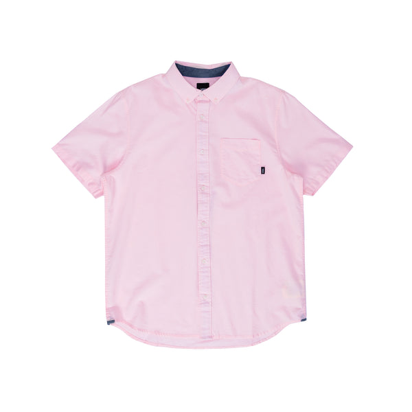 VN0000MYXZV M Houser SS Vans Cool Pink - front - available at off the hook montreal