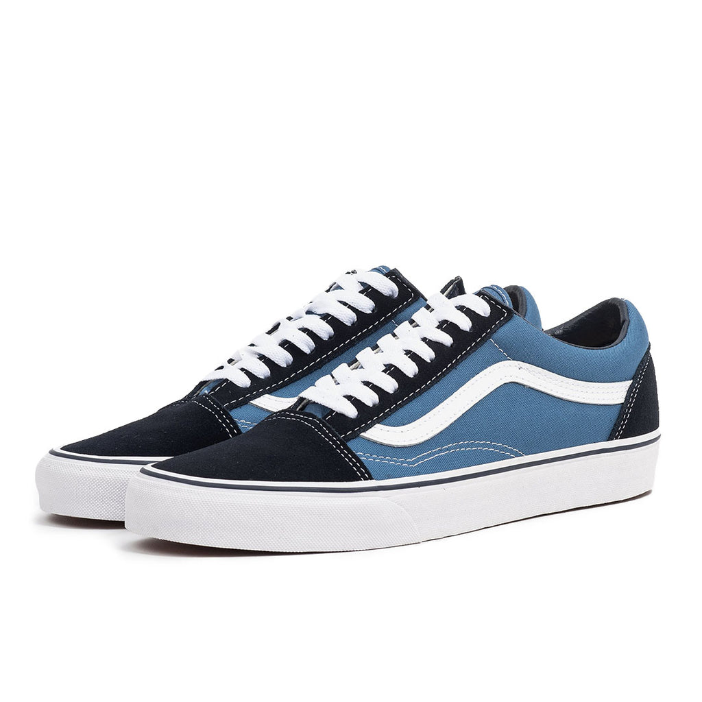 vans old skool navy blue unisex classic streetwear skate sneaker shoe off the hook oth canada