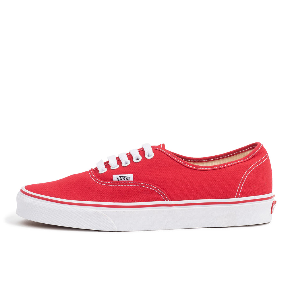 vans authentic red white u classic skate shoe oth off the hook streetwear sneaker unisex