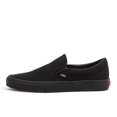vans classic slip on triple true black skate shoe sneaker streetwear off the hook oth unisex