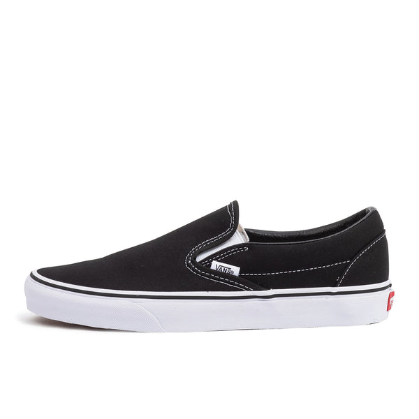 vans classic slip on black white skate shoe sneaker streetwear off the hook oth unisex