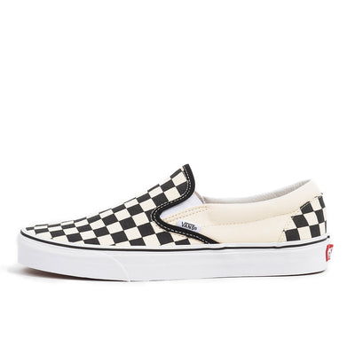 vans classic slip on black white checker checkerboard skate shoe sneaker streetwear off the hook oth unisex