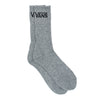 vans classic crew socks 3 pack 9.5 13 black logo grey skate streetwear off the hook oth