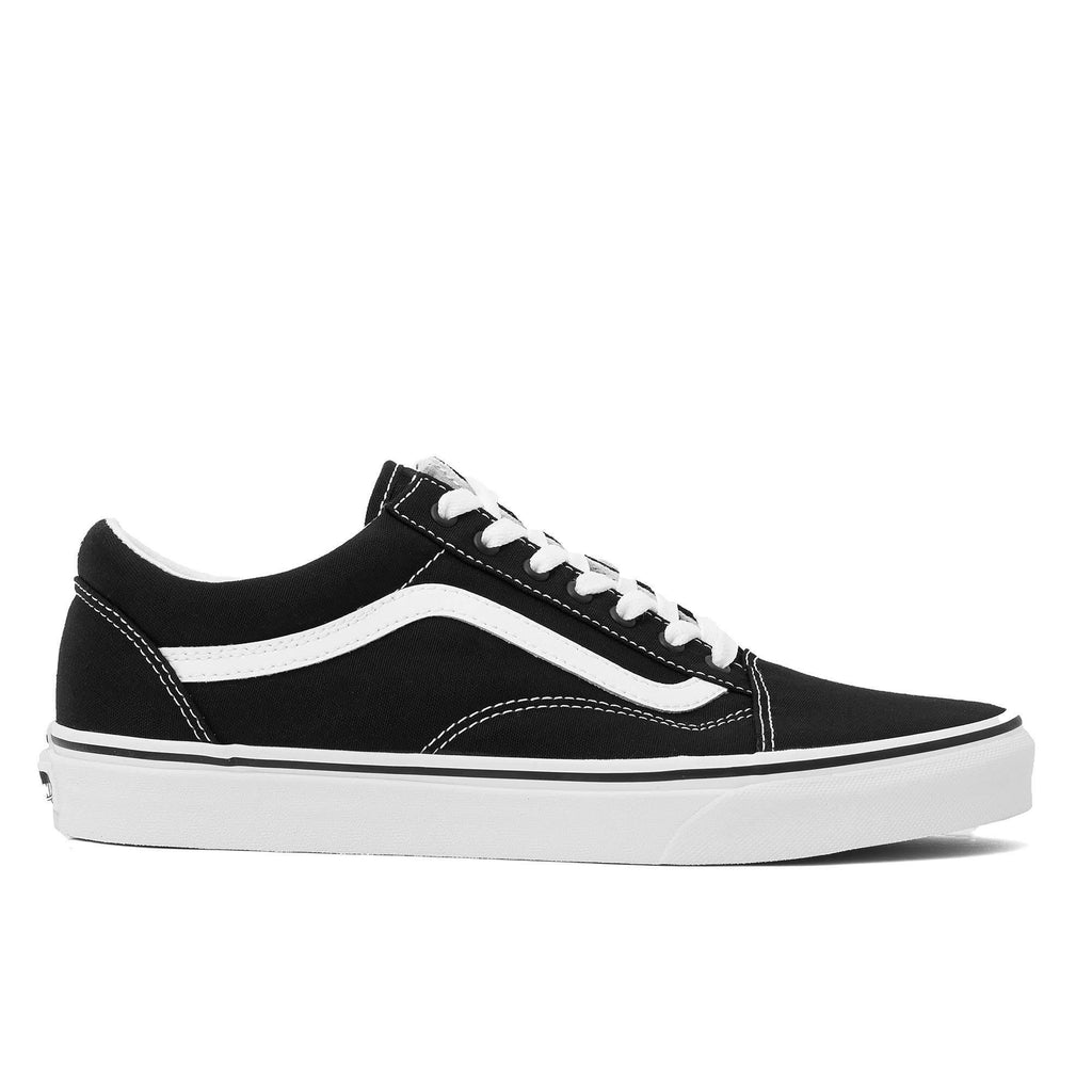 Old Skool Canvas Noir / True White U