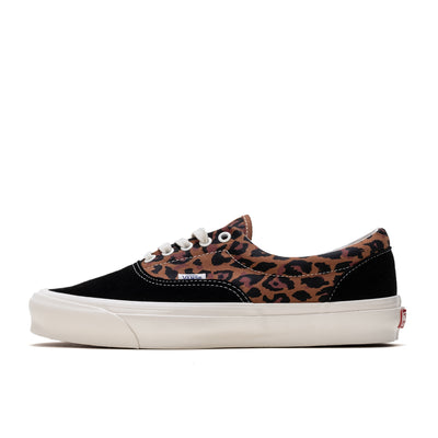 Vans OG Era LX  - Leopard Black / Marshmallow - Side - Off The Hook Montreal