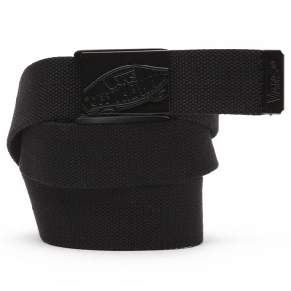 vans conductor 2 ii web belt triple black skate accessory off the hook oth streetwear canada