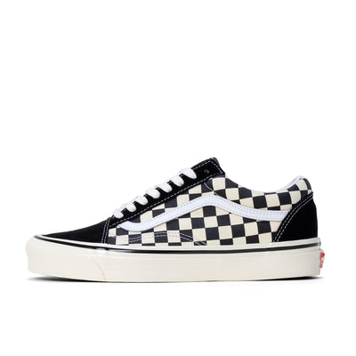 Vans Old Skool 36 DX -  Black / Checkerboard - Side - Off The Hook Montreal