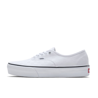AUTHENTIC PLATFORM 2.0 TRUE WHITE/BLACK - VN0A3AV842B - side - available at off the hook montreal