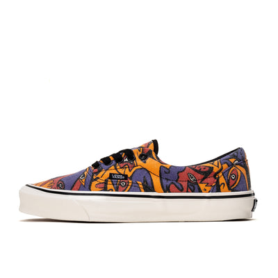 Vans OG ERA LX - Purple / Orange -  Side - Off The Hook Montreal
