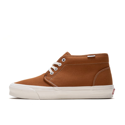 Vans OG Chukka LX -  Pumpkin Spice  - Side - Off The Hook Montreal