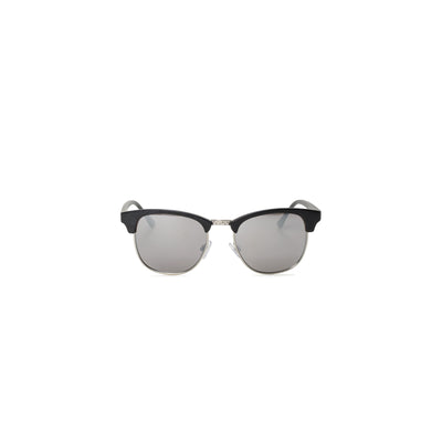 Dunville Shades - Matte Black / Silver - Front - Off The Hook Montreal #color_matte-black-silver
