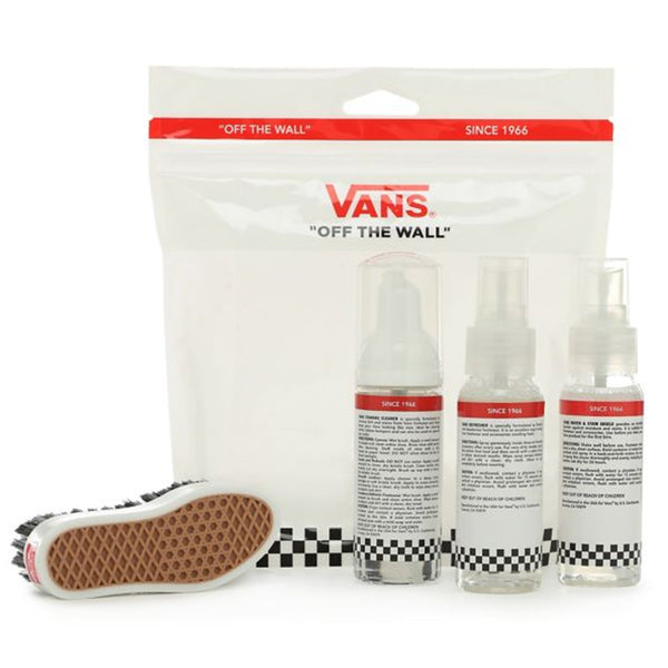 vans shoe care travel kit cleaning sneaker brush soap repellent protector off the hook oth