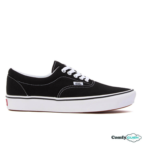 vans comfycush comfy cush era classic black u soft sole sneaker shoe off the hook oth skate streetwear