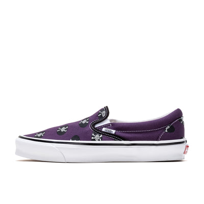 Vans x Wacko Maria OG Classic Slip-On LX - Purple /Records - Side - Off The Hook Montreal