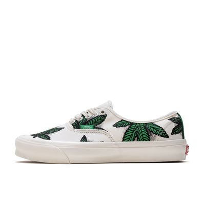 Vans OG Authentic LX - Green - Side - Off The Hook Montreal