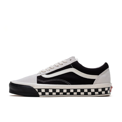 Vans Old Skool LX Bumper Cars - Marshmallow / Black - Side - Off The Hook Montreal