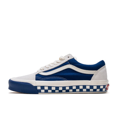 Vans Old Skool LX Bumper Cars - Marshmallow / True Blue - Side - Off The Hook Montreal