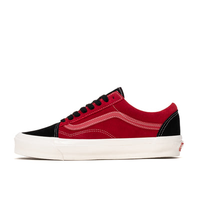 Vans Old Skool OG - Chili Pepper / Black - Side - Off The Hook Montreal #color_chili-pepper_black