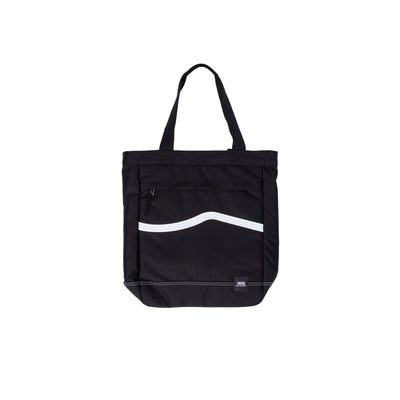 Vans M Construct Tote - Black - Front - Off The Hook Montreal #color_black_white