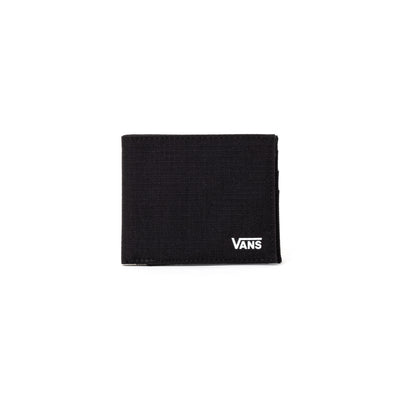 Vans Ultra Thin Wallet - Black / White - Front - Off The Hook Montreal