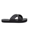vans cross strap sandals womens black summer off the hook oth slip on shoes