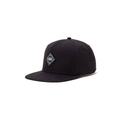 Vans Pelzer SnapBack - Black - Front - Off The Hook Montreal #color_black
