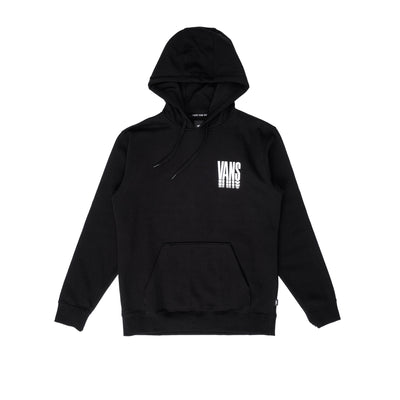 VN0A54AOBLK Vans Reflect Pullover Hoodie - front - available at off the hook montreal #color_black
