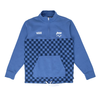 Vans x Penn Half Zip - Navy - Front - Off The Hook Montreal