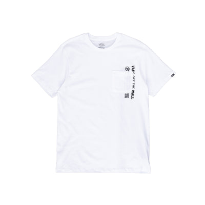 Vans Quick Response Pocket Tee - White - Front - Off The Hook Montreal #color_white