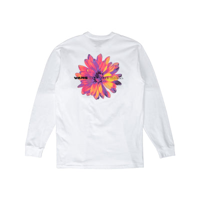 Vans Blooming LS T-Shirt - White - Back - Off The Hook Montreal