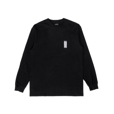 Vans Frequency L/S T-Shirt - Black - Front - Off The Hook MOntreal #color_black