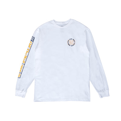 Vans Frequency L/S T-Shirt - White - Front - Off The Hook MOntreal #color_white