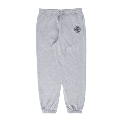 Vans Logo Up Fleece Pant - Grey - Front - Off The Hook Montreal #color_cement-heather
