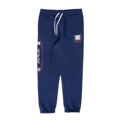 Vans Frequency Fleece Pant - Dress Blue - Front - Off The Hook Montreal #color_dress-blues