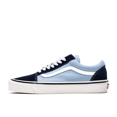 Vans Old Skool 36 AF - OG Navy / OG light Blue - Side - Off The Hook Montreal